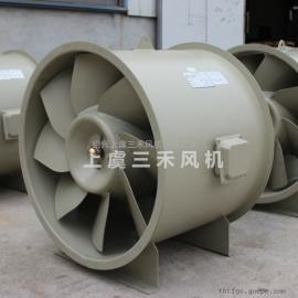 三禾GXF系列斜流排风机 钢塑高压斜流风机