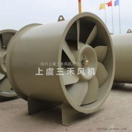 三禾管道式钢塑斜流风机