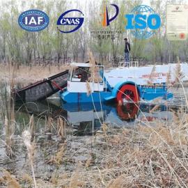 全自动水草收割机、水草清理船