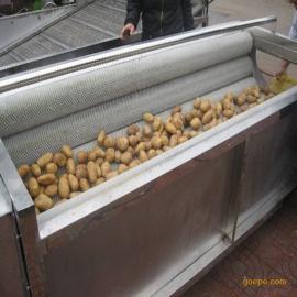不锈钢土豆去皮机 海鲜贝类清洗机 胡萝卜清洗机 生姜清洗机