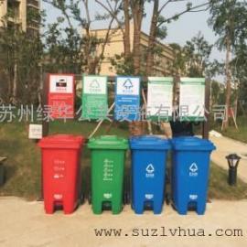 苏州塑料垃圾桶厂家苏州小区分类垃圾桶苏州环卫车垃圾桶