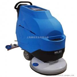 爱姆乐电动洗地机510B工厂车间用手推式清洗机超市洗地机