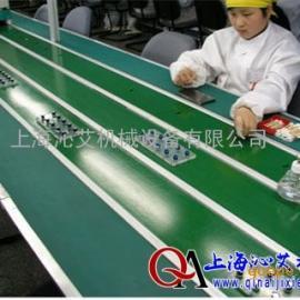上海厂家专业定做车间皮带输送机 皮带生产线 皮带流水线