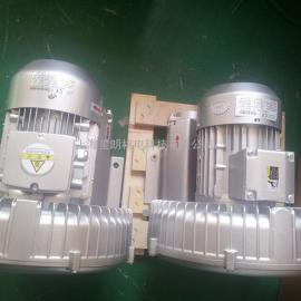 1.3KW单叶轮鼓风机 贝富克2XB410-H26旋涡式鼓风机
