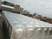 100吨不锈钢水箱,可根据现场定做尺寸