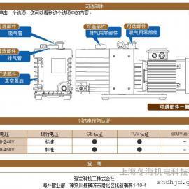 GLD-280A 油旋片式真空泵 ULVAC/ 真空泵