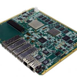 FPGA K7+DSP C6678+FMC+4路光纤信号处理板