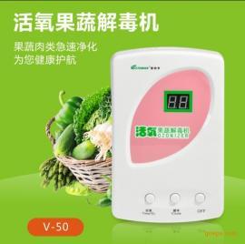 斯特亨V-50多功能果蔬解毒机臭氧活氧发生器果蔬消毒机