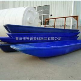 湖北PE打捞渔船 养殖捕鱼小船 直销小型渔船牛筋料塑料船