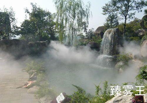 宁波冷雾系统设备-宁波园林景观工程