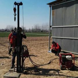 DSS型液压回弹式原状土土壤钻机