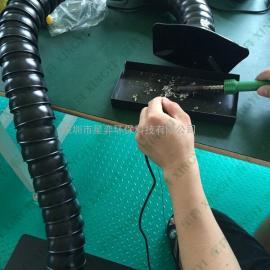 工厂焊锡抽烟机 流水线焊锡排烟器