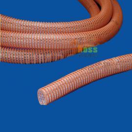 PVC塑筋螺旋增强软管 塑料伸缩波纹管 防静电吸烟管
