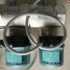 EA100-UTE电动球阀110VAC 304不锈钢电动阀