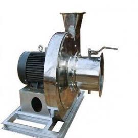 齐鲁安泰PP4-68型防腐风机 叶轮衬胶衬塑 不锈钢防腐