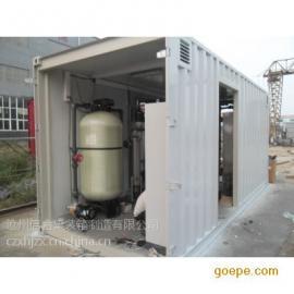 设备箱体一体 污水处理设备集装箱 认准北京信合集装箱