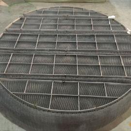 304不锈钢丝网除沫器脱硫塔去除酸沫气液分离