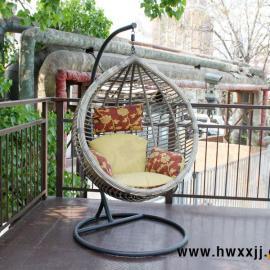 阳台吊篮 卧室吊椅 秋千藤椅 藤编摇椅