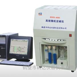 KDDL-8000高效微机定硫仪,微机控制,测量精确