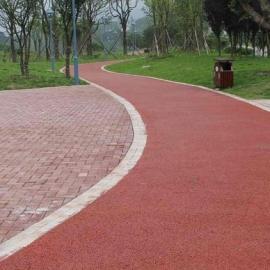 开阳县彩色强固透水混凝土 生态透水道路