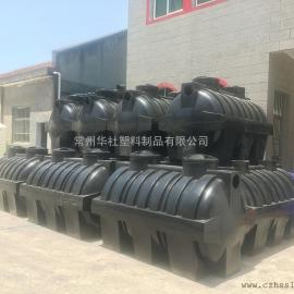 云南2吨一体化三格化粪池地埋式化粪池成品化粪池价格