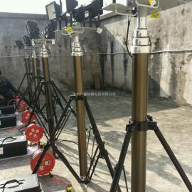 移动照明灯,抢修三脚架应急升降灯,消防抢险救灾全方位遥控升降灯