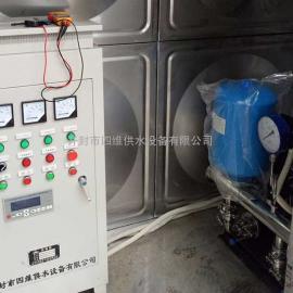 箱泵一体保温水箱供水机组-不锈钢保温水箱