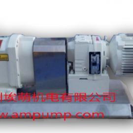 卫生级转子泵组 胶体泵组 凸轮泵组 万用输送泵组-广州埃萌