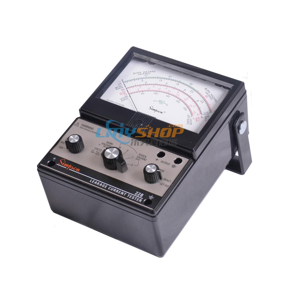 美国Simpson 228 泄漏电流表 美国辛普森228泄漏电流测试仪