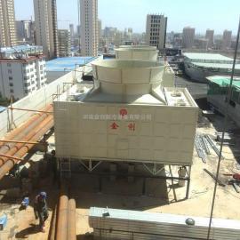 金创JCR系列超低噪音横流式方型玻璃钢冷却塔生产厂家