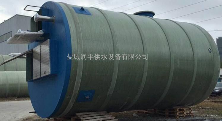 山东污水一体化提升预制泵站 润平 厂家直销