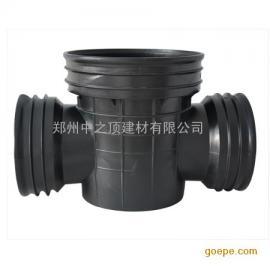 中顶 450 郑州溜槽直通 塑料检查井 成品排水井