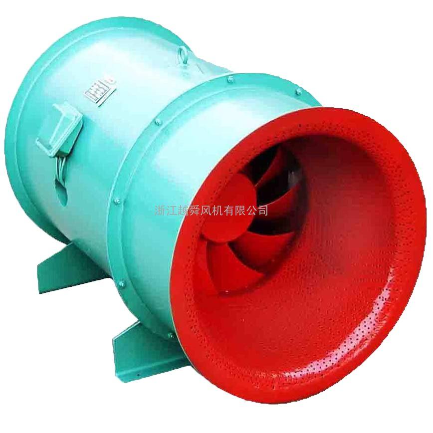 低噪声高效节能混流风机箱