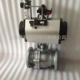 气动直通式球阀Q641F-16C/P DN40-DN200