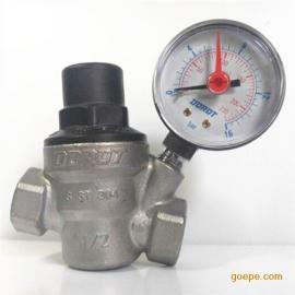 卫生级304持家管井调压阀 多诺特白口铁减压阀