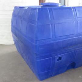 【新品】新疆5方耐腐蚀运输水箱5吨方形卧式储存罐送货上门
