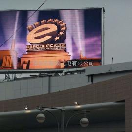 户外LED显示屏 商场LED广告屏 室外P6LED全彩屏