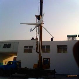 家用风力发电机组3kw经济无故障风力发电机低风发电