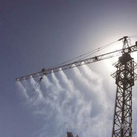 天津建筑工地塔吊喷淋降尘系统,天津矿业煤业喷雾加温除尘系统安