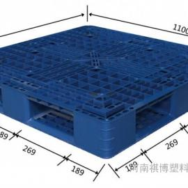 洛阳网格塑料托盘九脚货架栈板地台防潮板厂家