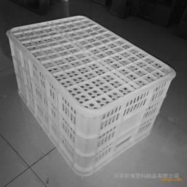 祺博塑料筐鹤壁周转箱厂家直销各型号蔬菜框食品筐饮料筐