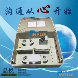 144芯光缆分光箱又称144芯光纤分纤箱卡接式装配介绍