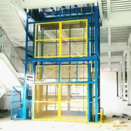 液压货梯液压载货梯东莞货梯直顶式液压升降平台导轨升降台
