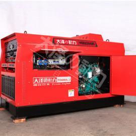 铁路局抢修专用500A静音柴油发电焊机