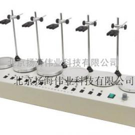 HJ-2A、4A、6A 数显恒温多头磁力搅拌器