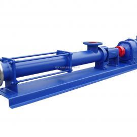 G型单螺杆泵/污水螺杆泥浆泵