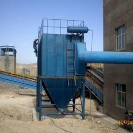 HMC型脉冲单机除尘器工作原理: HMC型脉冲单机除尘器含尘气体由