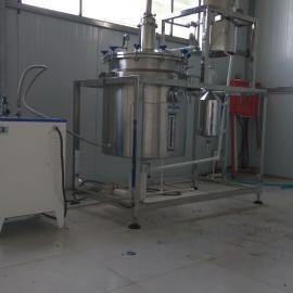 全自动分子蒸馏法艾叶精油提炼设备