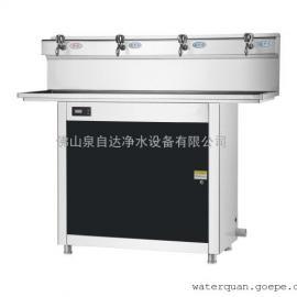 泉自达QJ-4E节能饮水机学校直饮水台不锈钢温热开水器