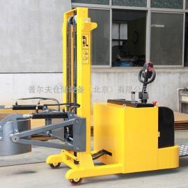 全电动油桶翻转倒料车 配重式油桶搬运车 平衡重式电动油桶堆高车
